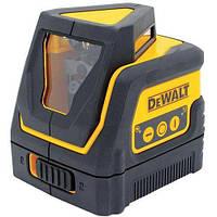 Лазер DeWALT,  кол-во лучей 2+1, класс лазера 1, шт