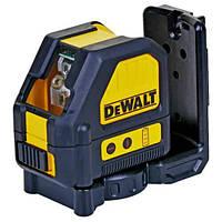 Лазер линейный (гориз+верт) DeWALT, (красный луч)10.8V Li-Ion,± 0.3мм/м,диапазон 30 м, шт