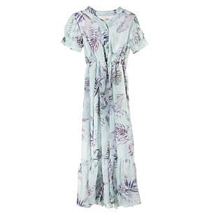 Шифоновое платье для девочки, размеры  8, 9, 10, 12, 14 лет