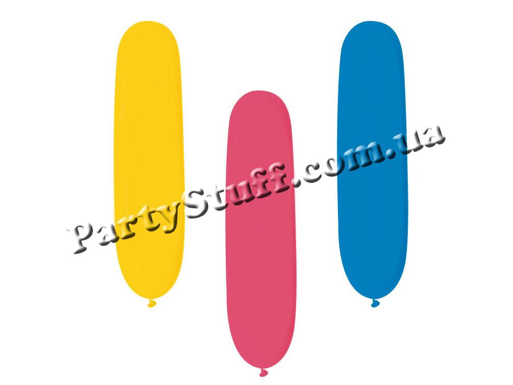 """Воздушные шарики цилиндры Gemar AD1 ассорти 3"""" (7 см), 100 шт"""