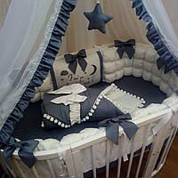 Детский постельный комплект «Зефир для принца»