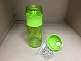 Бутылка - шейкер для спортивных коктейлей с поилкой 760 мл., фото 2