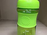 Бутылка - шейкер для спортивных коктейлей с поилкой 760 мл., фото 3