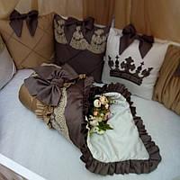 Детский постельный комплект «Золотой дым»