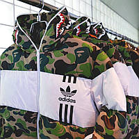 Зимняя куртка ADIDAS X BAPE