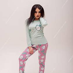 Пижама Хлопковая (бирюза)