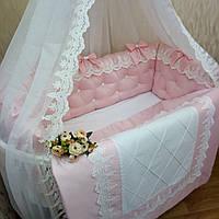 Детский постельный комплект «Нежность»