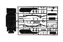 MERCEDES BENZ G230. Сборная модель легендарного немецкого внедорожника в масштабе 1/24. ITALERI 3640, фото 3