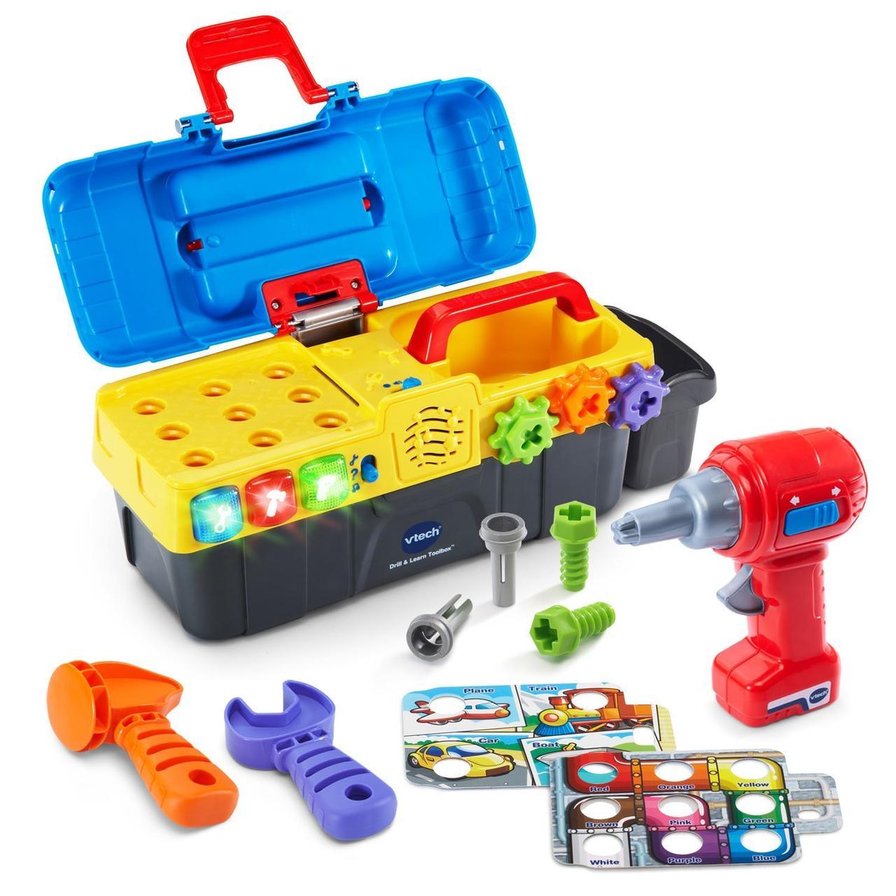 VTech Набор инструментов в чемоданчике Drill & Learn Toolbox Toy оригинал США