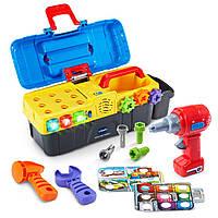 VTech Набор инструментов в чемоданчике Drill & Learn Toolbox Toy оригинал США, фото 1