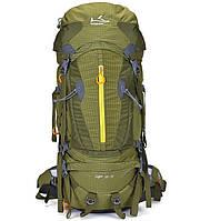 Туристический рюкзак 55-75 л Onepolar Liger 1631 зелёный