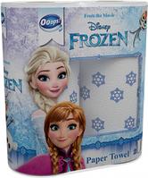 Ooops! полотенца бумажные 2-хслойные Frozen  2шт  (50 отрывов)