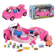 Машинка Свинка Пеппа с героями