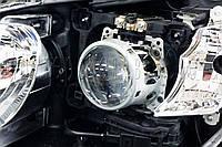Toyota Camry XV55 - замена линз на биксеноновые Hella 3R