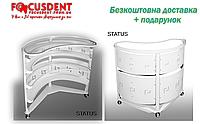 Овальний столик STATUS, максимальна комплектація, безкоштовна доставка + подарунок