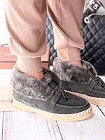 Теплые комфортные ботинки LORO PIANA Open Walk (реплика), фото 1
