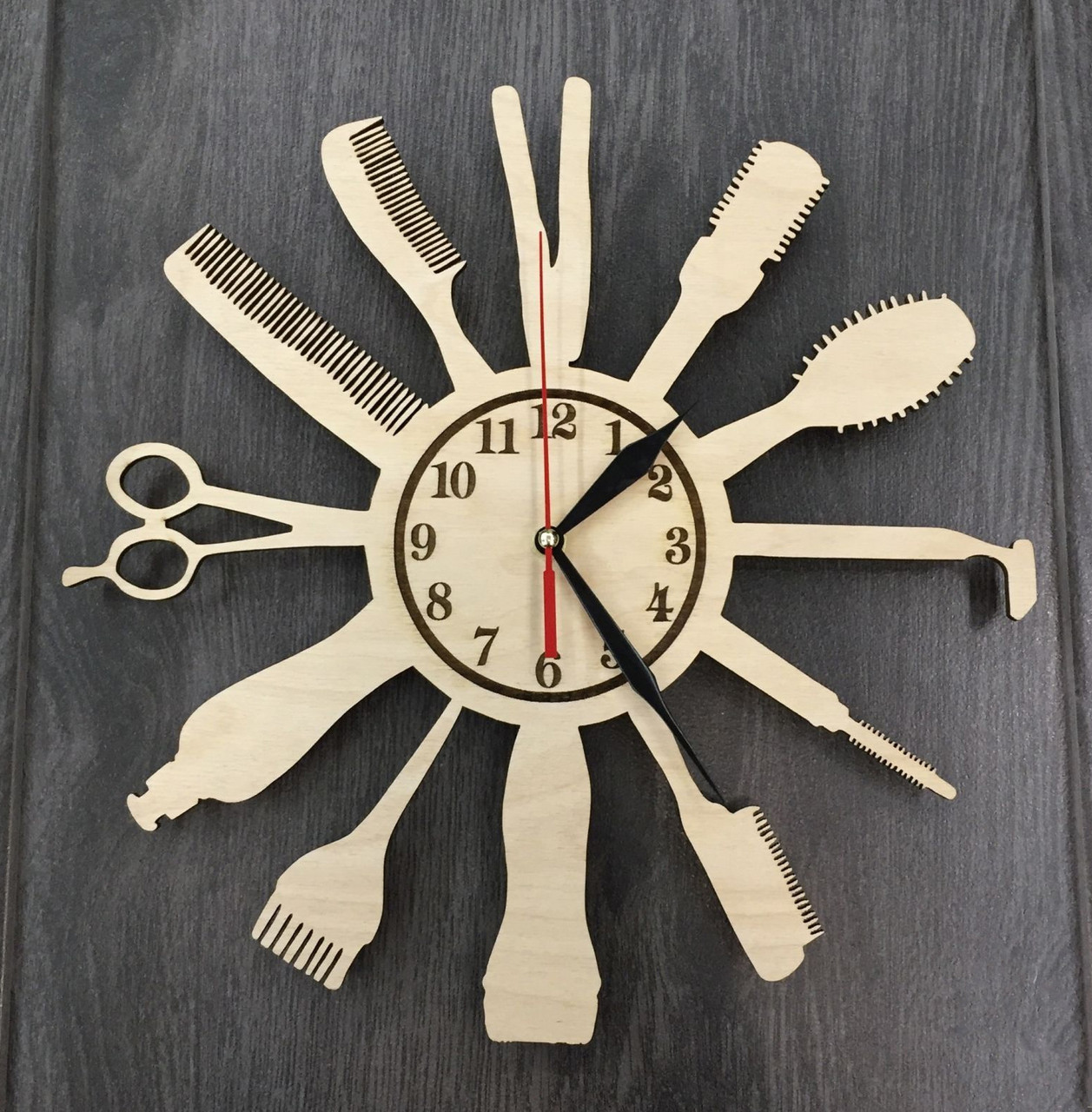 Настенные часы 7Arts Индустрия красоты CL-0003