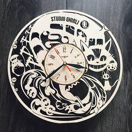 Настенные часы ручной работы 7Arts Аниме Studio Ghibli CL-0042, фото 2
