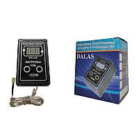 """Цифровой электронный двухпороговый влагорегулятор """"DALAS"""" 10А в розетку."""