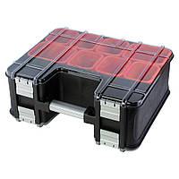 Органайзер двухсторонний с металлическими замками Profi 390×325×163мм Ultra Sigma 7417452, фото 1