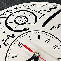 Годинник ручної роботи з дерева 7Arts Зірка смерті CL-0104, фото 3