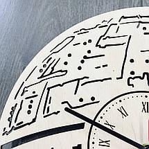 Годинник ручної роботи з дерева 7Arts Зірка смерті CL-0104, фото 2