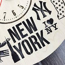 Дизайнерские часы на стену 7Arts Нью-Йорк CL-0105, фото 3