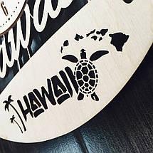 Интерьерные часы на стену 7Arts Гавайи CL-0112, фото 2