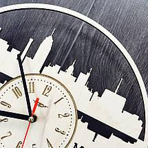 Дизайнерські годинники на стіну 7Arts Лансінг, штат Мічіган CL-0116, фото 3