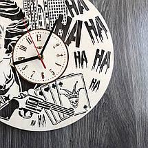 Деревянные настенные часы Джокер CL-0261, фото 3