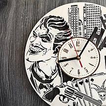 Деревянные настенные часы Джокер CL-0261, фото 2