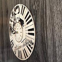 Бесшумные настенные часы из дерева Modern Talking CL-0264, фото 2