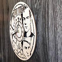 Оригинальные настенные часы из дерева Star Trek CL-0295, фото 2