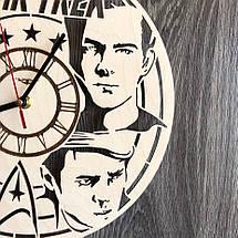 Оригинальные настенные часы из дерева Star Trek CL-0295, фото 3