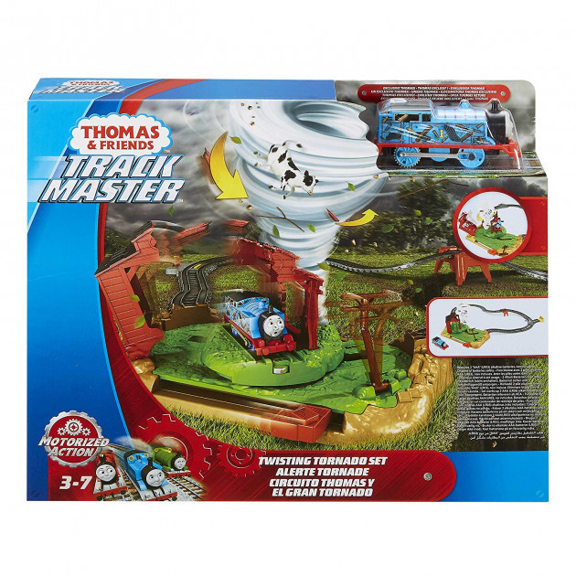 Набір Thomas and Friends Track master Торнадо моторизований  ( Фишер Прайс Паровозик Томас Торнадо )