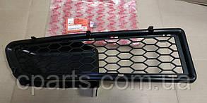 Решетка переднего бампера правая Dacia Logan фаза 1 (Asam 32239)(среднее качество)