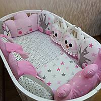 Детский постельный комплект «Лесная сказка»