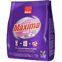 Sano Maxima Musk концентрированный стиральный порошок 1.25 кг