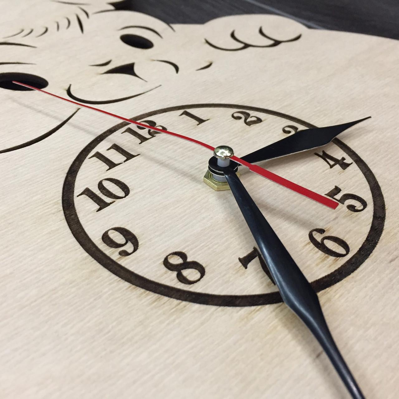 Настінні дитячі годинники 7Arts Кумедна тваринка CL-0008