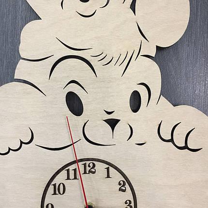 Настінні дитячі годинники 7Arts Кумедна тваринка CL-0008, фото 2