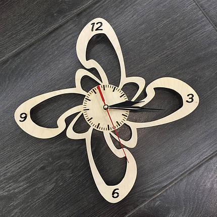Годинники настінні дерев'яні 7Arts Оригінальність CL-0012, фото 2