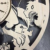 Оригинальные настенные часы 7Arts Красавица и чудовище CL-0022, фото 2