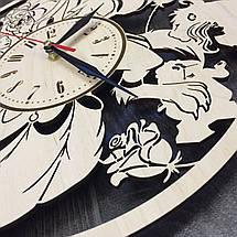 Оригинальные настенные часы 7Arts Красавица и чудовище CL-0022, фото 3