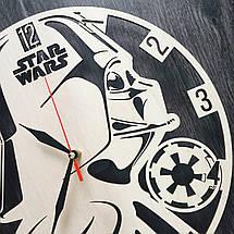 Годинник ручної роботи настінні 7Arts Час Зоряних Воєн CL-0029, фото 3