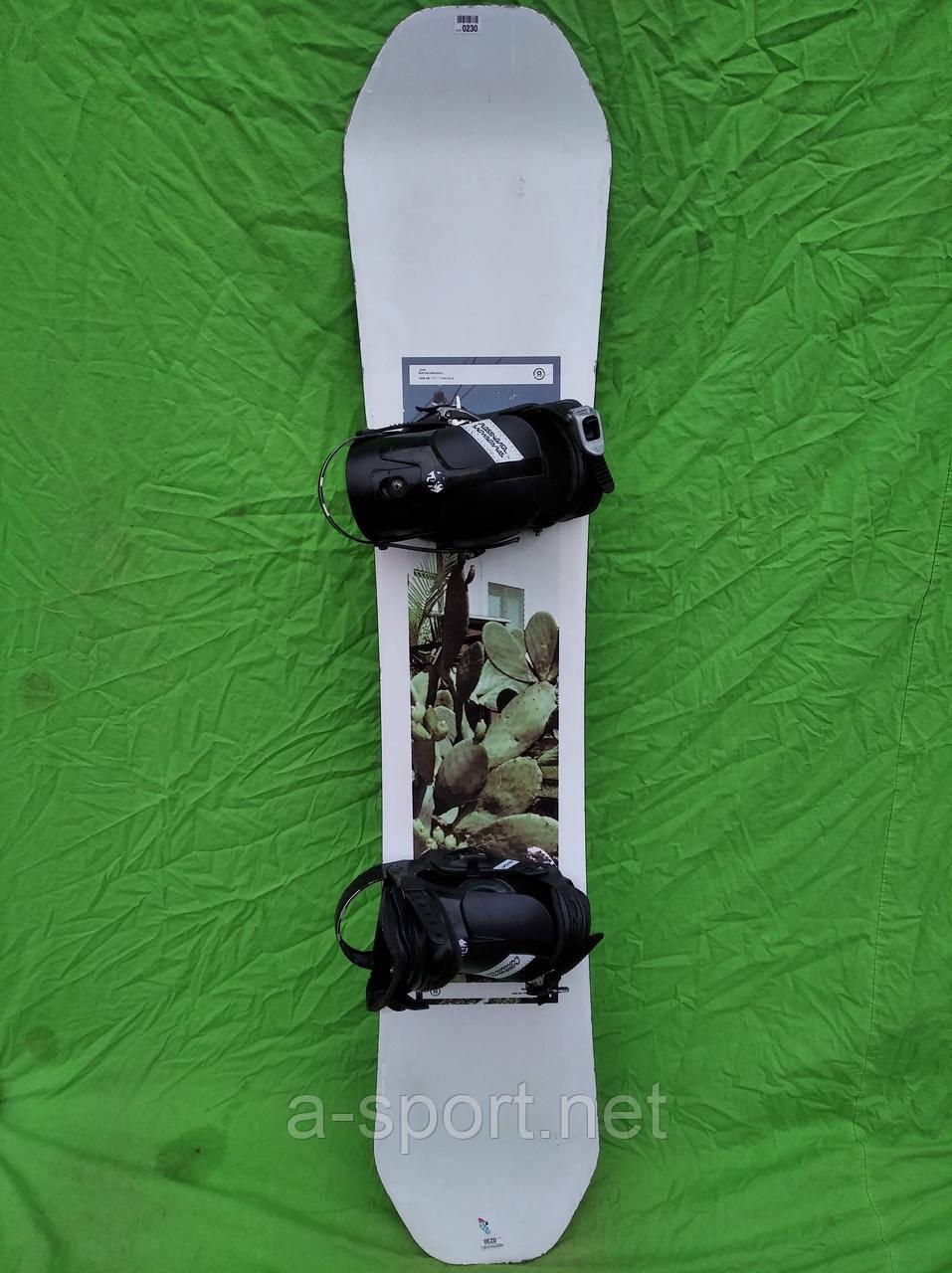 Сноуборд бу  Ride kink 158 см + кріплення rossignol
