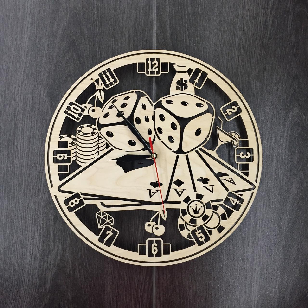 Часы настенные 7Arts Казино CL-0036