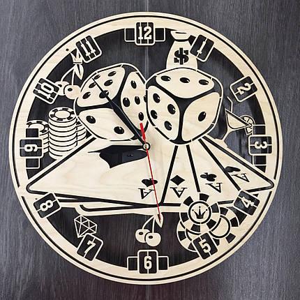 Часы настенные 7Arts Казино CL-0036, фото 2