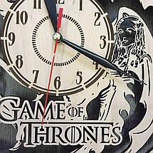 Часы настенные большие оригинальные для гостиной 7Arts Игра Престолов CL-0046, фото 3
