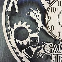 Часы настенные большие оригинальные для гостиной 7Arts Игра Престолов CL-0046, фото 2