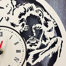 Оригінальні настінні годинники з дерева 7Arts Гра Престолів CL-0086, фото 2